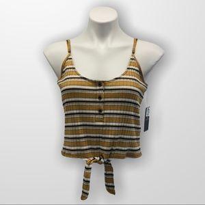 VOLCOM Stone Stripe Cami Size Large
